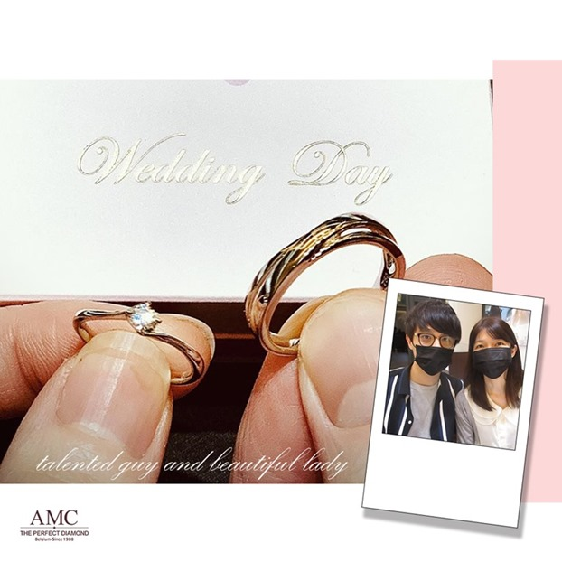 AMC鑽石婚戒 好評婚戒品牌 CP值超高婚戒品牌台北 AMC高品質對戒,訂婚鑽戒,結婚對戒,求婚鑽戒