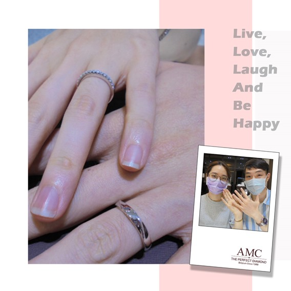 AMC鑽石婚戒 好評婚戒品牌 CP值超高婚戒品牌台北 AMC高品質對戒,訂婚鑽戒,結婚對戒,求婚鑽戒,婚戒推薦