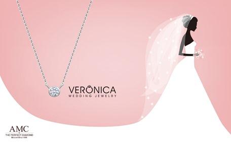 型號:6110Q .18K鑽石項鍊NT13980.