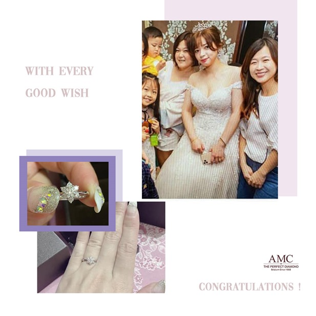 AMC鑽石婚戒 平價婚戒品牌推薦 結婚對戒推薦 GIA鑽戒 求婚鑽戒 訂婚鑽戒,結婚對戒