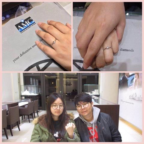 AMC鑽石婚戒051301